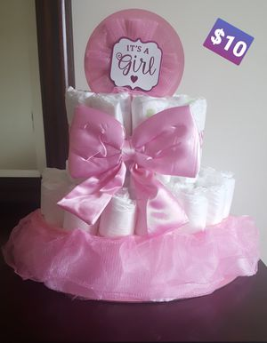 Baby shower center pieces (babygirl centerpieces) for Sale in Hamilton, OH