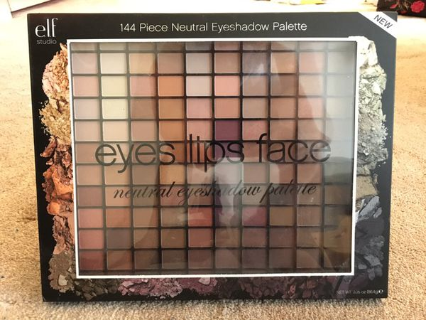 Elf Studio 144 Piece Neutral Eyeshadow Palette