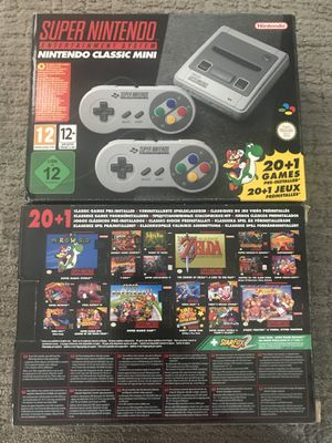 Brand new Super Nintendo Classic with games for Sale in Denver, CO