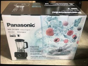 BRAND NEW SEALED IN BOX PANASONIC MX-ZX1800 HIGH SPEED BLENDER for Sale in Las Vegas, NV