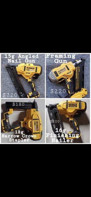 Dewalt nail guns TOOL ONLY for Sale in Rialto, CA