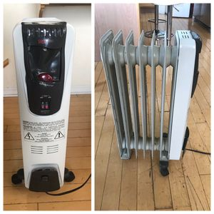 DeLonghi Safeheat Portable Radiator Heater-1500 Watts for Sale in Romeoville, IL