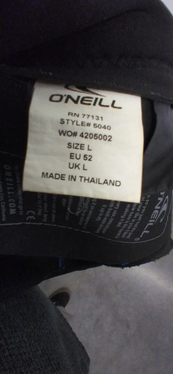 O'neill 3-2 Wetsuit Size L