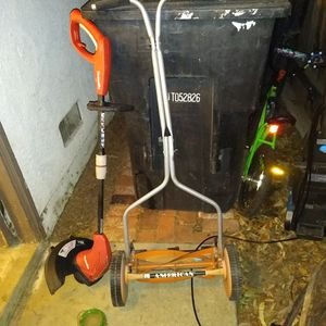 Push Mower Weed Eater And Edger for Sale in Ontario, CA