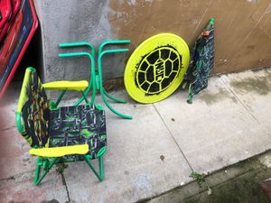 Kids table with chair for Sale in San Diego, CA