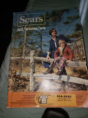 1975 sears catalog with accidental showing of Male models privates. for Sale in Knoxville, TN