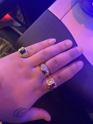 10k Gold Rings Anillos de oro 10k for Sale in Miami, FL