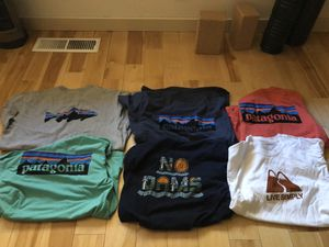 Six Patagonia Responsibili-Tees Size Large for Sale in Bend, OR