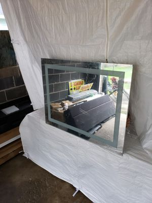 LED wall mounted mirror for Sale in Fond du Lac, WI