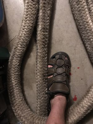 60 foot it's 3 or 4 inches diameter heavy duty rope for Sale in Scottsdale, AZ