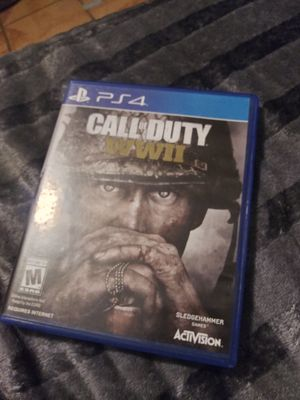 Call of Duty WWII PS4 for Sale in Los Angeles, CA
