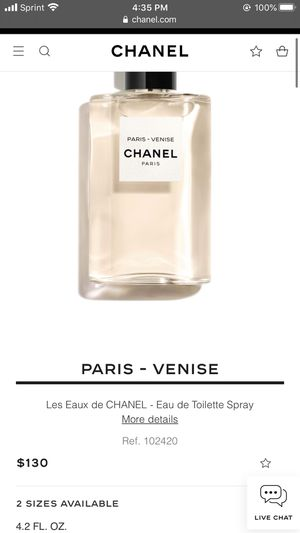 Chanel VENISE perfume new for Sale in Moreno Valley, CA