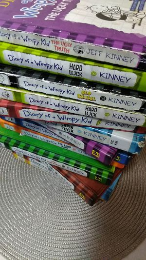 Diary of a wimpy kid books for Sale in San Francisco, CA
