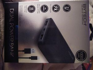Dual power bank phone charger for Sale in Hollins, VA