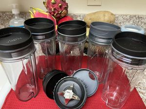 Ninja blender replacement cups for Sale in Whittier, CA