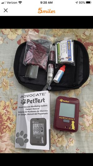 Diabetes test kit for dogs and cats for Sale in NY, US