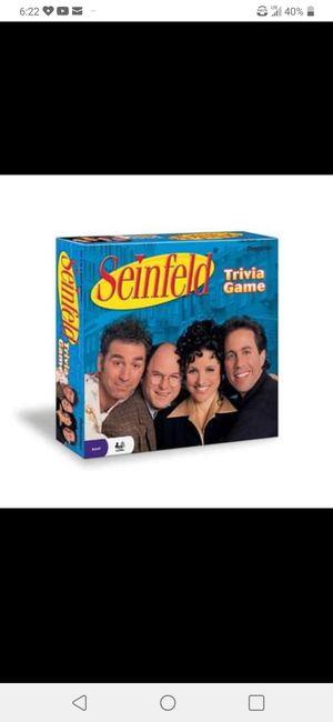 Seinfeld Trivia Board Game New for Sale in Oklahoma City, OK