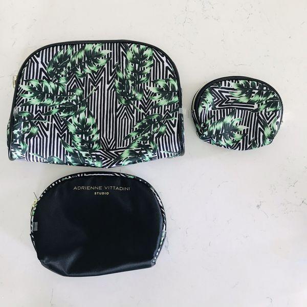 Adrienne Vittadini Studio makeup bags