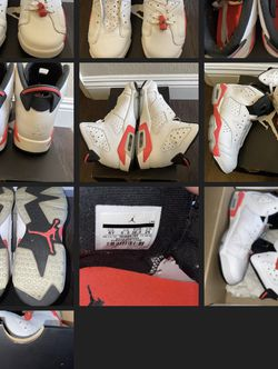 Air Jordan 6 Retro White Infrared Size 6Y for Sale in Long Beach,  CA