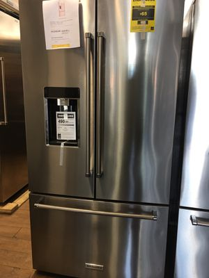 Kitchen Aid Counter Depth Bottom Freezer Fridge for Sale in San Diego, CA