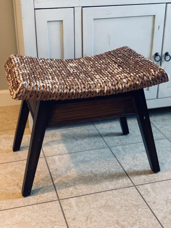 Pier 1 Wooden stool