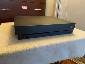 BRAND NEW!! ONLY USED ONCE!! XBOX ONE X 1 TB 4K for Sale in Santa Ana, CA