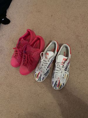 Adidas superstar / Stan smiths both sz 11.5 for Sale in Johns Creek, GA