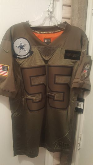Dallas Cowboys NIKE SALUTE TO SERVICE MILITARY VANDER ESCH JERSEYS SIZES SMALL MEDIUM LARGE XL AND 2XL AVAILABLE for Sale in Grand Prairie, TX