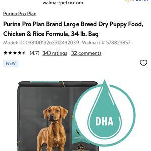 Purina Pro Plan Focus 34lbs for Sale in Tampa, FL