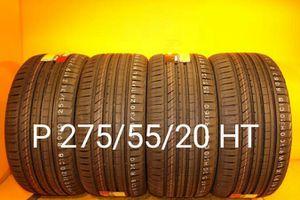 4 New tires P 275/55/20 HT llantas nuevas for Sale in Chula Vista, CA