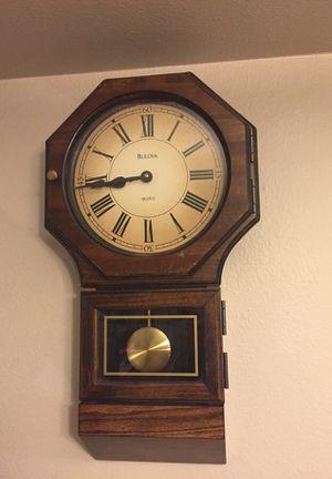 Antique Bulova Wall Clock for Sale in Austin, TX