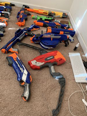 NERF GUNS, CLIPS, ATTACTHMENTS for Sale in Dover, DE