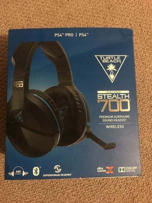 Turtle Beach Stealth 700 Premium Surround Sound Wireless PS4 Headset for Sale in Arbutus, MD