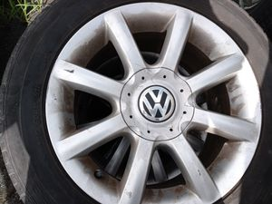 Vw passat rims have all 4 rims all 4 have tiers on them must go $300 for Sale in Lancaster, PA