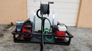 CAR WASH EQUIPMENT COMPLETE WITH TRAILER for Sale in Fort Lauderdale, FL
