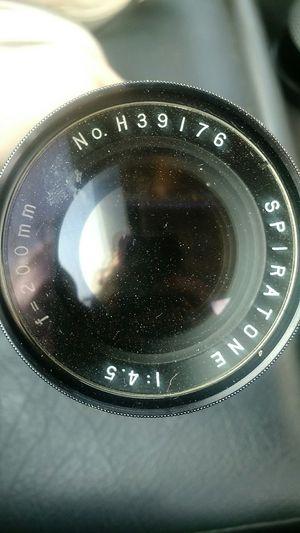 Camera lens for Sale in Belle Plaine, KS