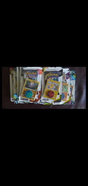 10 packs of Pokemon (variety) only $30 that's half off for Sale in Norfolk, VA