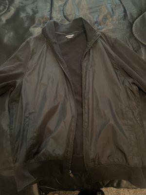 Men's Black XL Michael Kors Zipper Up Jacket (Fits Like Large) for Sale in Las Vegas, NV