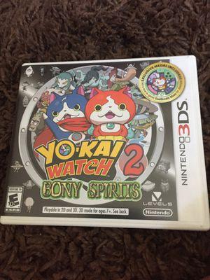 Nintendo 3DS Yo Kai game for Sale in Coronado, CA