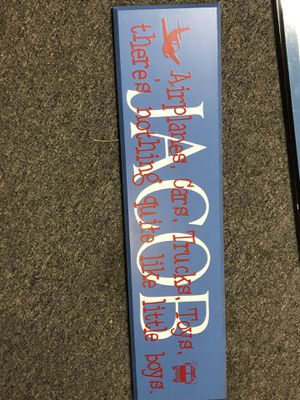 Personalized Wooden Sign for Sale in Medford Lakes, NJ
