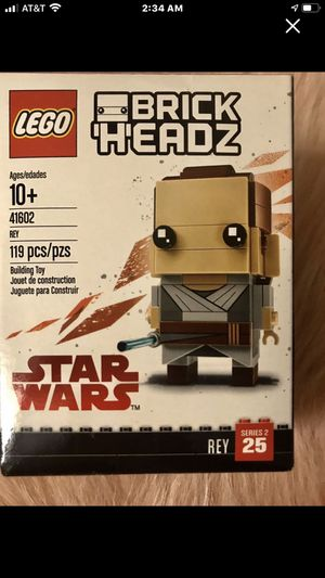 RETIRED NIB Lego Star Wars Rey for Sale in Wardsville, MO