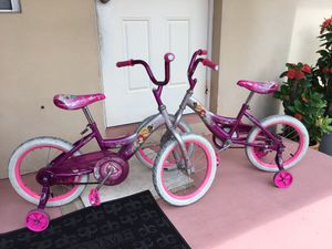 """2 Bikes in Excellent working Condition 16"""" and 18"""" $60 OBO. for Sale in Lake Worth, FL"""