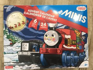 Thomas and friends minis 2017 advent calendar for Sale in Pflugerville, TX