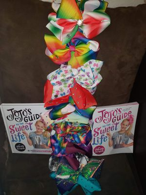 JoJo Siwa Bows and books for Sale in Arvada, CO