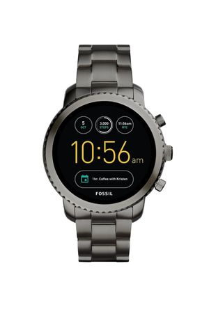 Good Condition Fossil Generation 3 Smart Watch Black w/ 2 Chargers for Sale in San Gabriel, CA