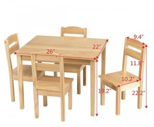 Kids table chair set for Sale in Garden Grove, CA