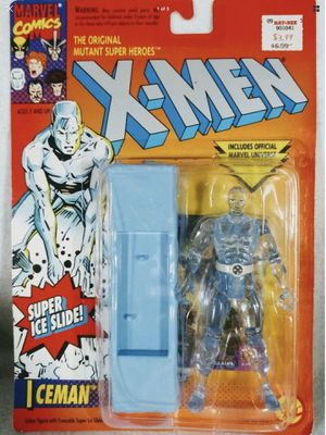X-Men - Iceman - Marvel Comics - Original Vintage Figure - ToyBiz - Rare - Mint Condition - Brand New - Exclusive Toys - Holiday Sale for Sale in Lawndale, CA