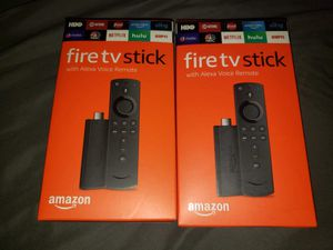New Unlocked Amazon Fire TV Stick Media Streamer Free Movies, Tv Shows, PPV, Sports, Music for Sale in Chicago, IL