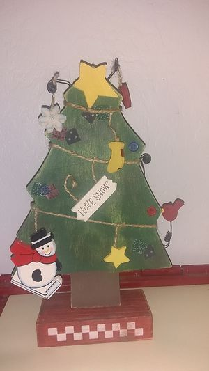Christmas tree, decor, home decorations, house, Christmas, art for Sale in Phoenix, AZ