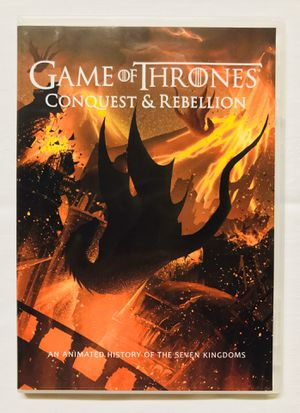 Like New Game of Thrones Conquest and Rebellion DVD for Sale in Stanwood, WA